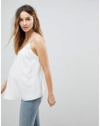 ASOS - Asos Design Maternity Swing Cami With Double Layer - Lyst