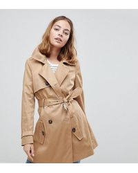 Trench Coat Co-ord With Rope Detail - Stone Asos oE5lgyalk