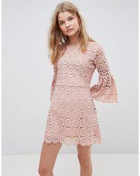 Urban Bliss - Winnie Crochet Dress - Lyst