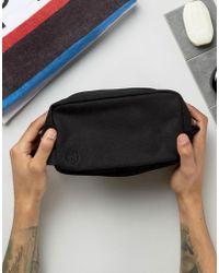 Mi-Pac - Canvas Wash Bag In Black - Lyst