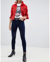 ONLY - Skinny Leg Push Up Effect Jean - Lyst