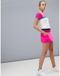 adidas - Tennis Skirt In Hot Pink - Lyst