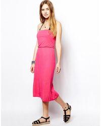Marie Meili - Malibu Rose 3 Way Dress - Lyst