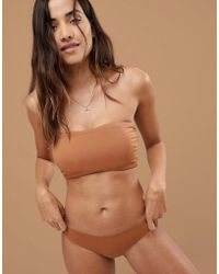 Nubian Skin - Naked Collection Nude Perfect Thong In Warm - Lyst