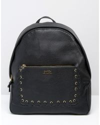 Faith - Whipstitch Pocket Backpack - Black - Lyst