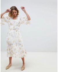 RahiCali - Meadow Blooms Kimono - Lyst