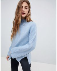 New Look - Wide Sleeve Sweater - Lyst