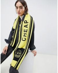 Cheap Monday - Skull Football Scarf - Lyst