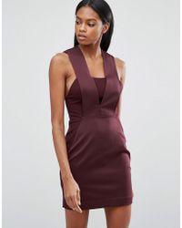 AQ/AQ - Aq/aq Bodycon Mini Dress - Lyst