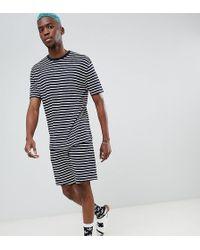 ASOS DESIGN - Pyjama Set With Shorts In Stripe - Lyst
