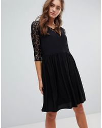 Pepe Jeans - Lace A-line Midi Dress - Lyst