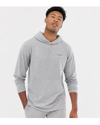 Nicce London - Nicce Lounge Hoodie In Grey - Lyst