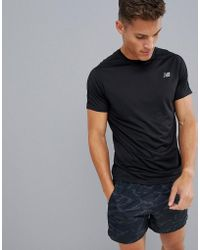 f852baee New Balance Running Camo Accelerate T-shirt In Grey in Gray for Men ...
