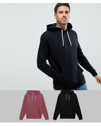 ASOS - Lot de 2 hoodies - Lyst