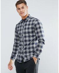 Jack & Jones - Long Sleeve Shirt - Lyst