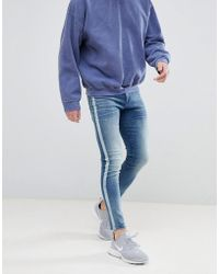 Good For Nothing - Super Skinny Jeans With Side Stripe - Lyst