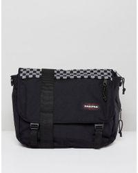 Eastpak | Delegate Messenger Bag In Checkerboard 20l | Lyst