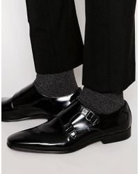 KG by Kurt Geiger - Kurt Geiger Root Leather Monk Shoe - Lyst