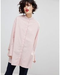 Essentiel Antwerp - Purity Oversized Shirt - Lyst
