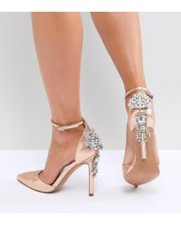ASOS DESIGN Purley Wide Fit High Heels BXveUVfO
