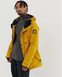 Billabong Adversary Jacket In Yellow