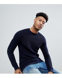 Ted Baker - T For Tall Knitted Crew Neck Jumper - Lyst