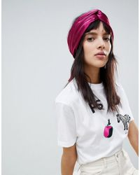 ASOS Twist Block Headscarf
