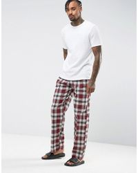 Tokyo Laundry - Pyjama Check Trousers - Lyst