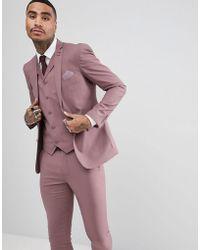 Rudie - Wedding Pastel Skinny Fit Suit Jacket - Lyst
