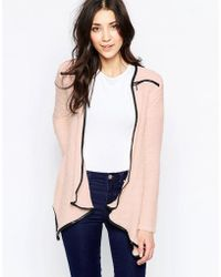Wal-G | Cardigan With Zip Detail | Lyst