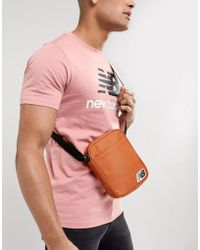 New Balance - Crossbody Bag In Orange 500211-807 - Lyst