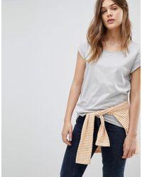 Esprit - Basic Organic Cotton T-shirt - Lyst