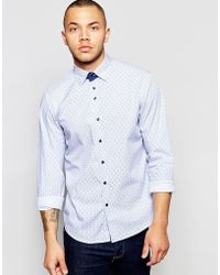 Dickens And Browne - Stripe Shirt - Lyst