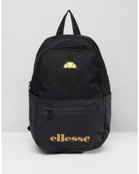 Ellesse - Backpack With Logo In Black - Lyst