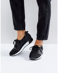 Truffle Collection - Lace Up Runner Sneakers - Lyst