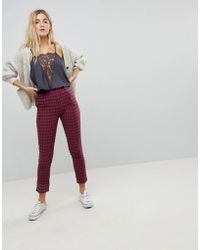 Daisy Street | Tailored Trousers In Check | Lyst