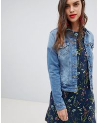 Esprit - Denim Jacket - Lyst