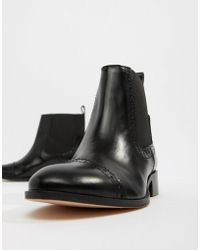 Dune - Tyra Leather Chelsea Boots - Lyst