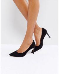 Dune - Pointed Toe Kitten Heel Court Shoe - Lyst