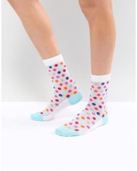 PS by Paul Smith - Ps By Paul Smith Spot Mesh Sock - Lyst