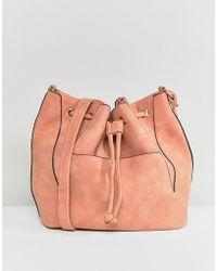 Pieces - Bucket Bag - Lyst