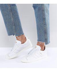 Lyst adidas Originals Originals Gazelle en blanco en blanco