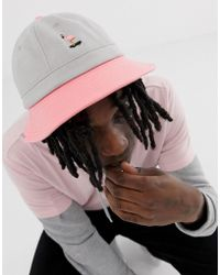 RIPNDIP - Ripndip Beaches Bucket Hat In Pink And Grey - Lyst