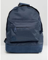 Mi-Pac - Classic Backpack In Navy - Lyst
