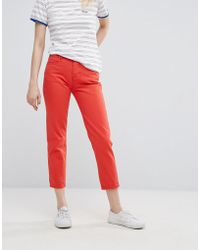Wrangler - Cropped Straight Jean - Lyst