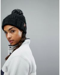 The North Face - North Face Black Chunky Beanie - Lyst