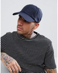 SELECTED - Nylon Baseball Cap - Lyst
