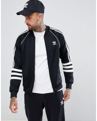 Track Jacket Superstar Authentic Black Dj2856 In WEDeH2IY9