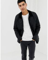 Barbour - Heritage Liddesdale Quilted Jacket In Black - Lyst