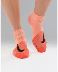 Nike - Elite Lightweight Socks In Pink - Lyst